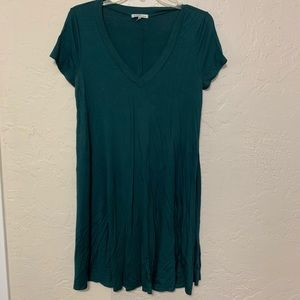 Forrest green T-shirt dress Charlotte Russe Size S